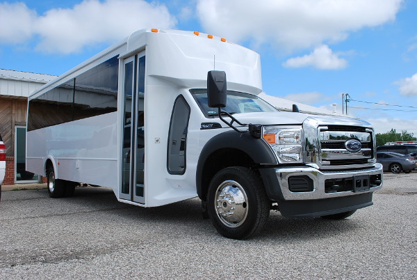 22 Passenger Party Bus Rental Wichita Kansas